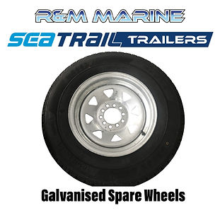SEATRAIL GALVANISED WHEEL