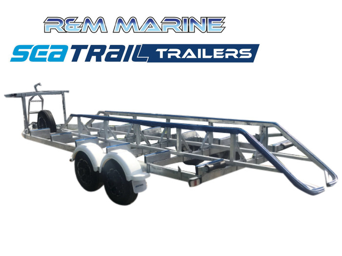 SEATRAIL 7M 3500KG RATED CAT BOAT TRAILER