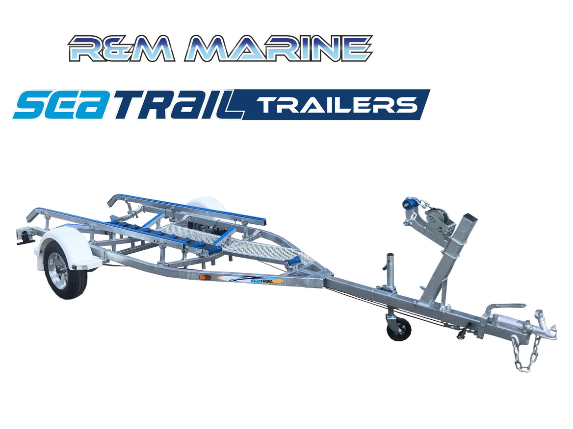 SEATRAIL 4.8M DELUXE BRAKED SKID BOAT TRAILER