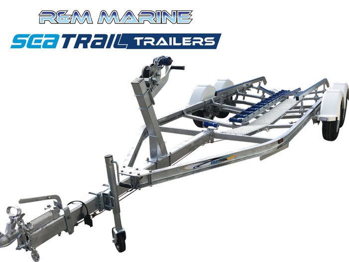 SEATRAIL 5.5M C-CHANNEL TANDEM SKID BOAT TRAILER