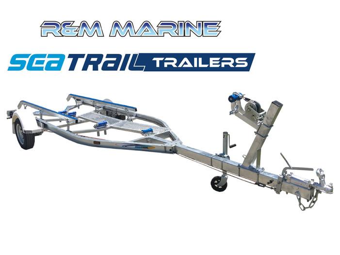 SEATRAIL 5.2M C-CHANNLE SKID BOAT TRAILER