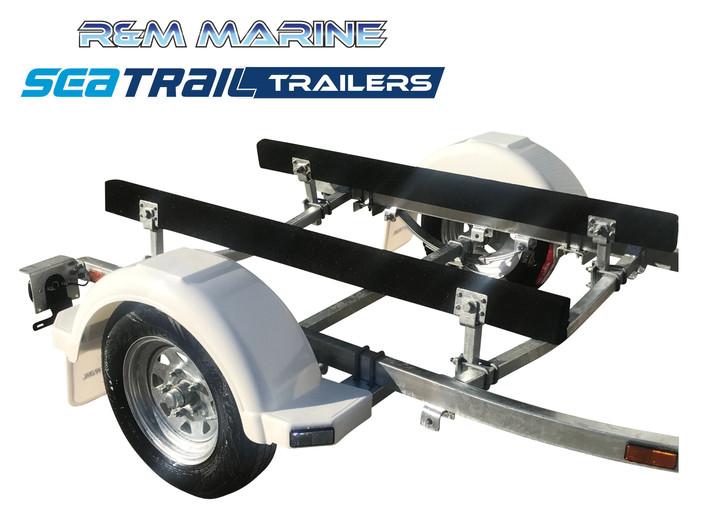 SEATRAIL 3.8M SKID BOAT TRAILER