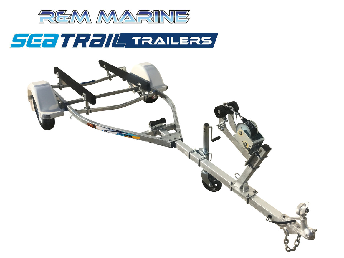 SEATRAIL 3.6M SKID BOAT TRAILER