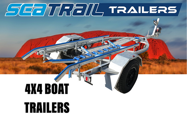 Seatrail Offroad 4x4 Boat Trailers