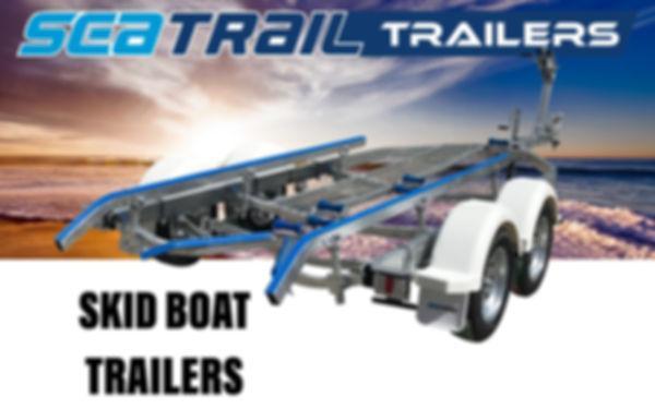Seatrail Skid Boat Trailers
