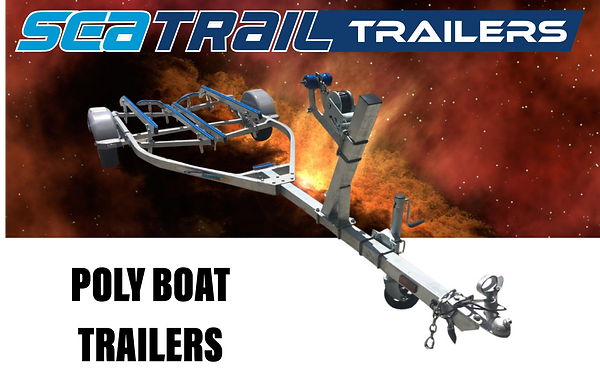 Seatrail Poly Boat Trailer