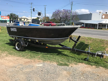 SEATRAIL CUSTOM FIB5M14 BOAT TRAILER WITH R&M PLATE BOATS 5.2M