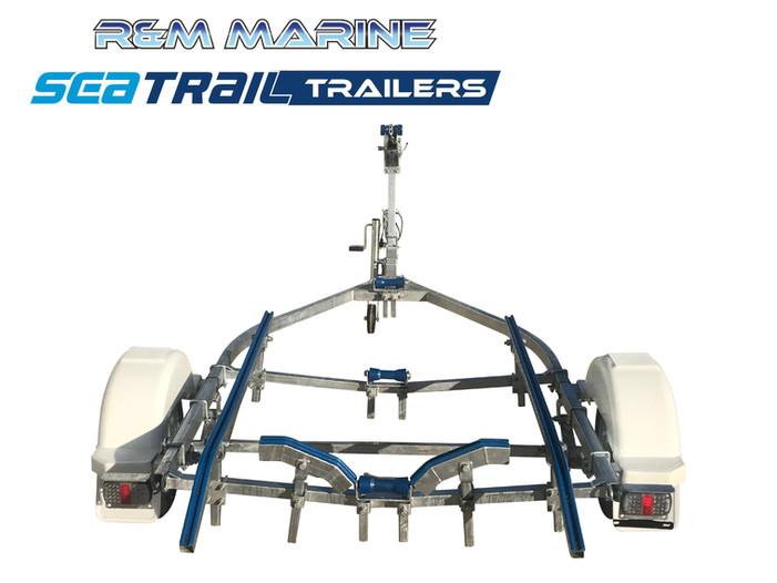 SEATRAIL 4.2M SKID BOAT TRAILER