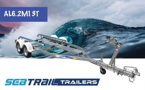 SEATRAIL AL6.2M13T TANDEM SKID BOAT TRAILER