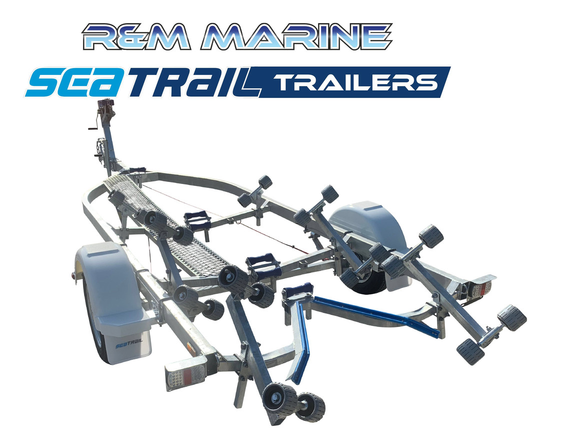 SEATRAIL 5.6M ROLLERED BOAT TRAILER