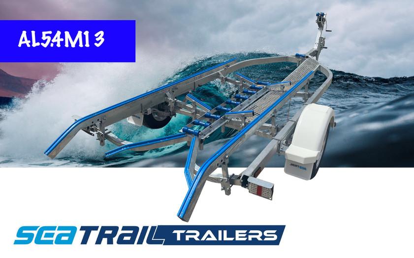 SEATRAIL AL5.4M13 DELUXE SKID BOAT TRAILER