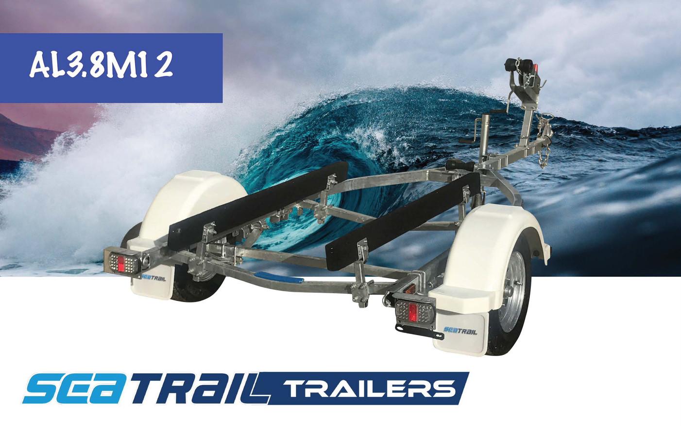 SEATRAIL AL3.8M12 SKID BOAT TRAILER
