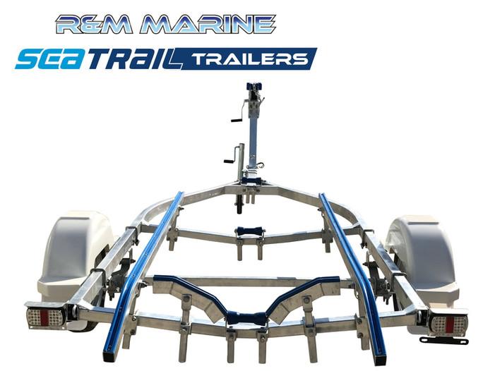 SEATRAIL 4.6M SKID BOAT TRAILER