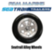 SEATRAIL ALLOY WHEEL