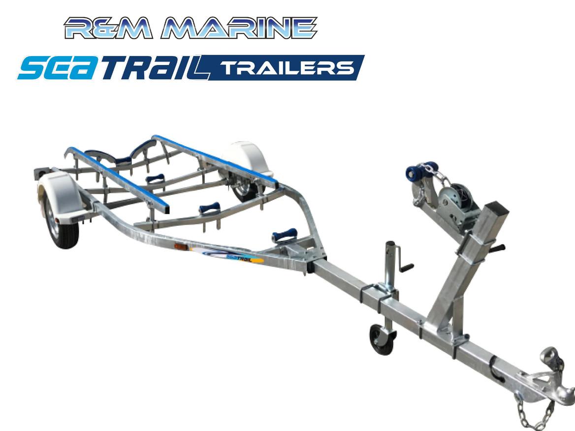 SEATRAIL 4.8M SKID BOAT TRAILER