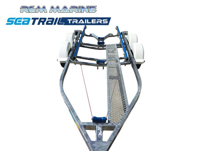 SEATRAIL 5.6M TANDEM SKID BOAT TRAILER