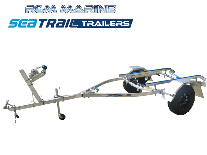 SEATRAIL 4.6M 4X4 SKID BOAT TRAILER