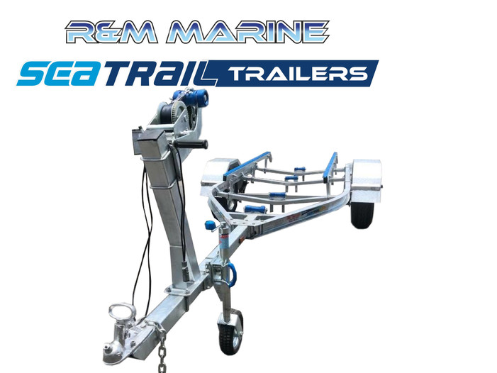 SEATRAIL 4.8M C-CHANNEL 4X4 SKID BOAT TRAILER