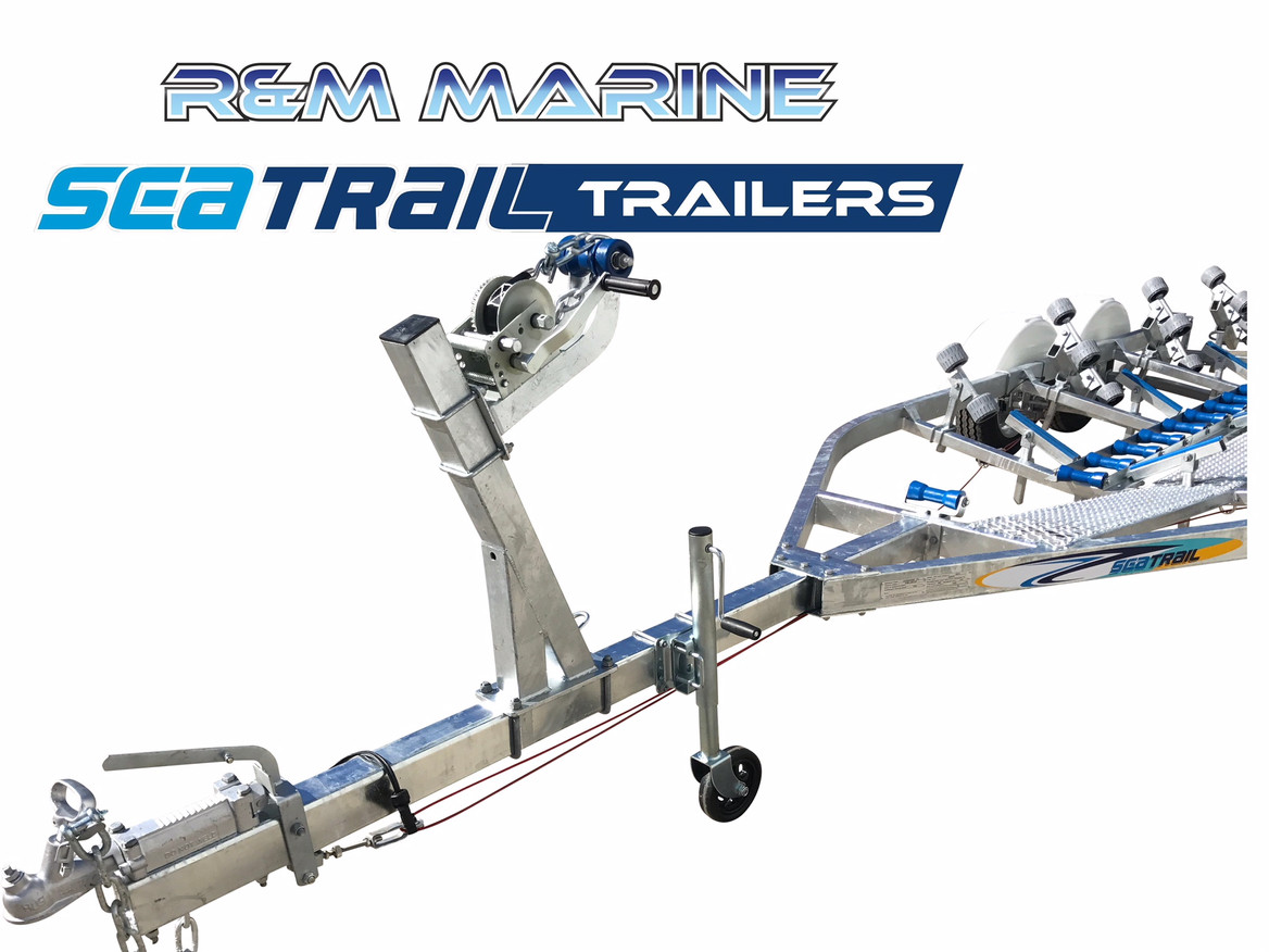 SEATRAIL 6.2M DELUXE TANDEM ROLLERED BOAT TRAILER