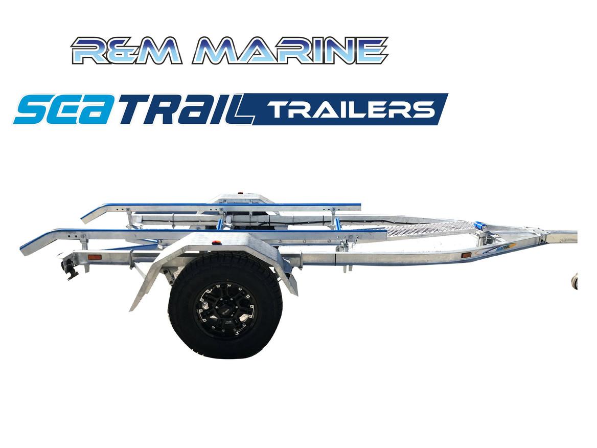 SEATRAIL 5.2M C-CHANNEL 4X4 SKID BOAT TRAILER