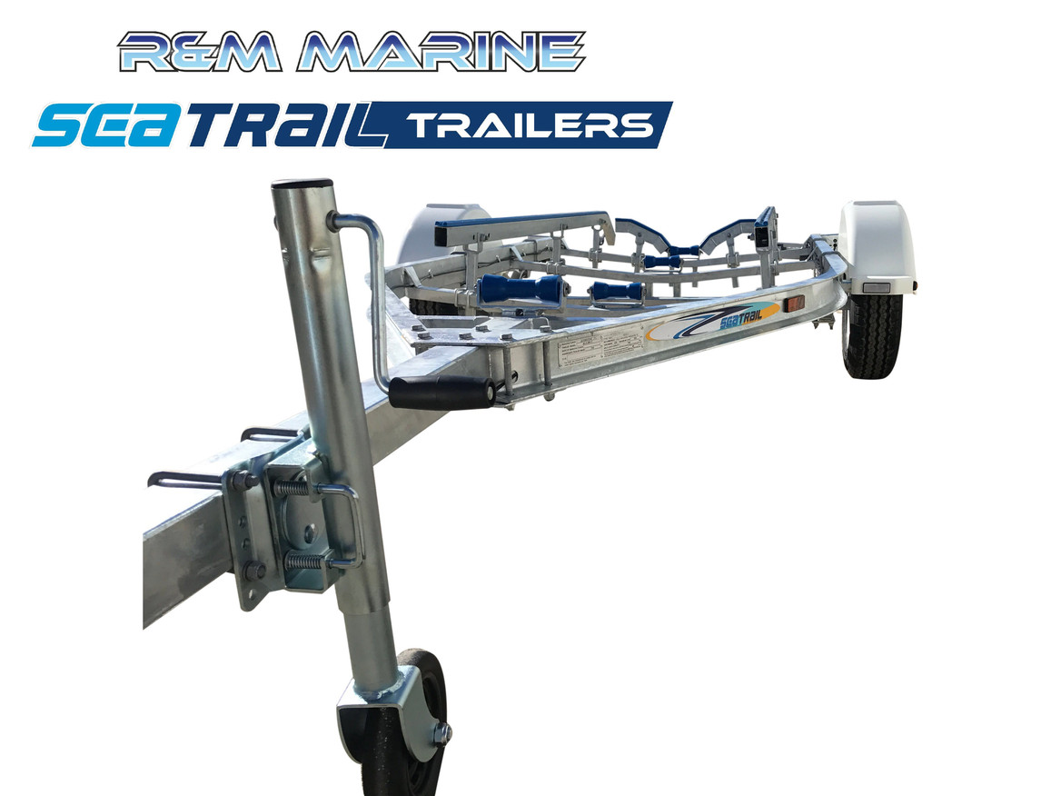 SEATRAIL 4.8M C-CHANNEL SKID BOAT TRAILER