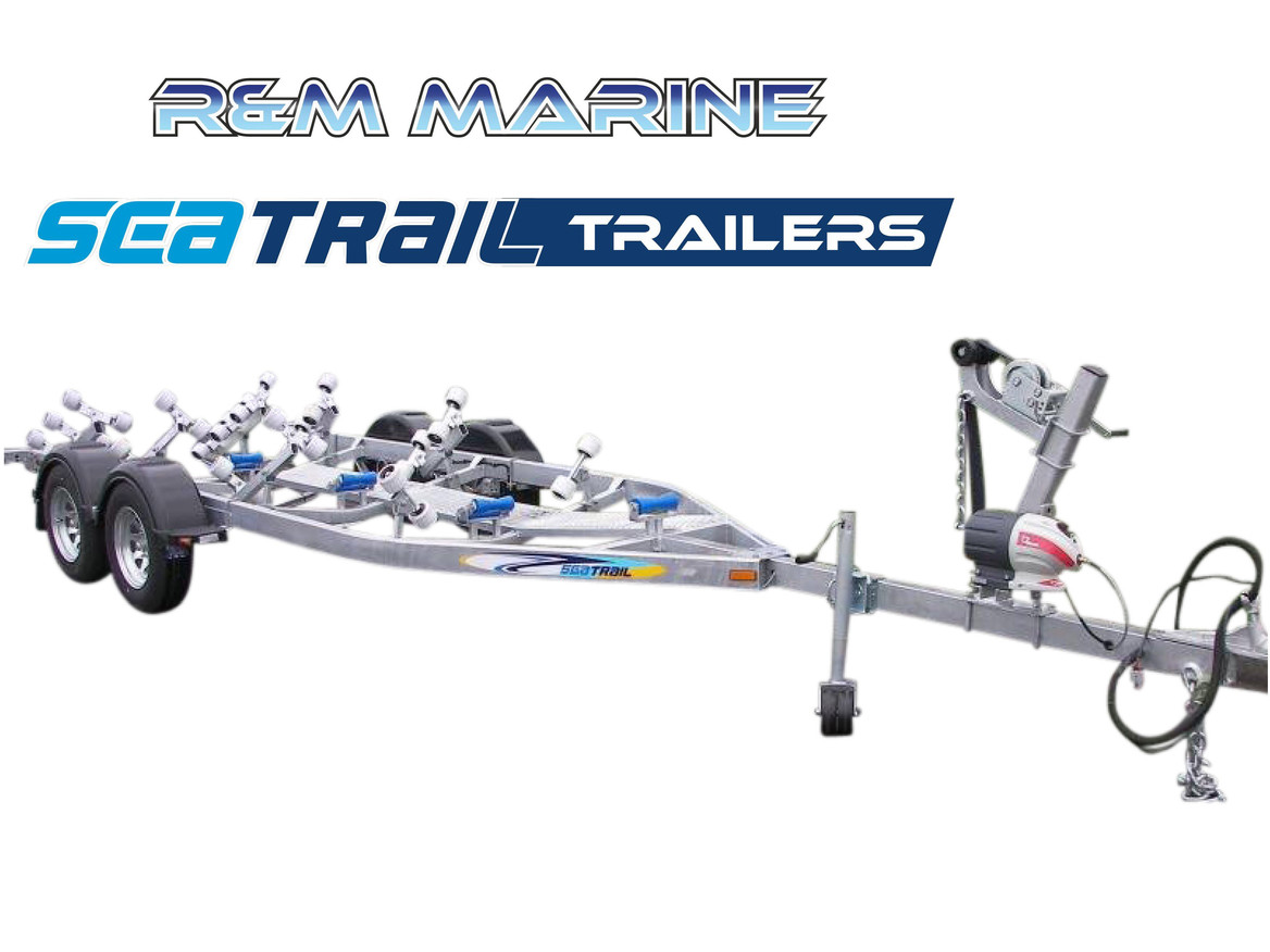 SEATRAIL 6.4M 3000KG RATED ROLLERED BOAT TRAILER