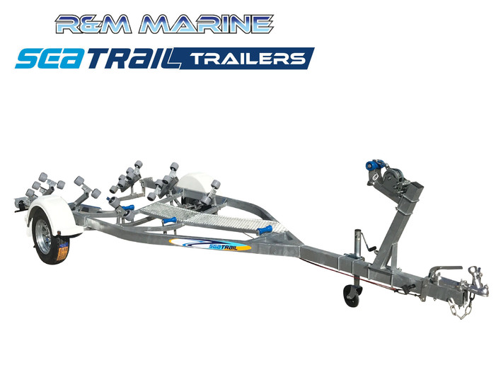 SEATRAIL 5.5M ROLLERED BOAT TRAILER