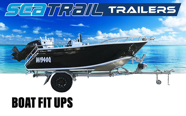 Seatrail Offroad Boat Trailer with Formosa Boat