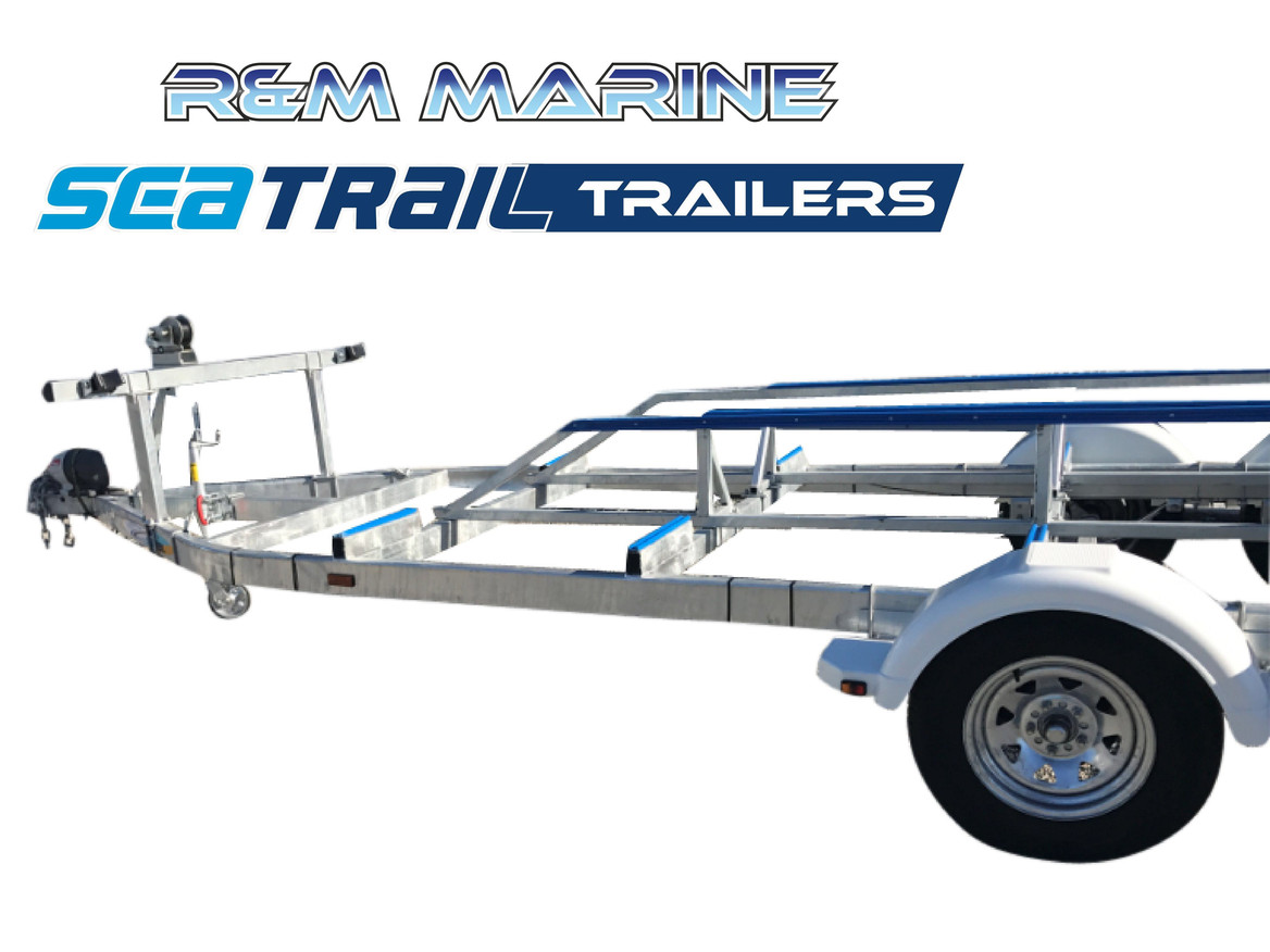 SEATRAIL 6M 3000KG RATED CAT BOAT TRAILER
