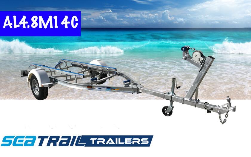 SEATRAIL AL4.8M14C C-CHANNEL BOAT TRAILER