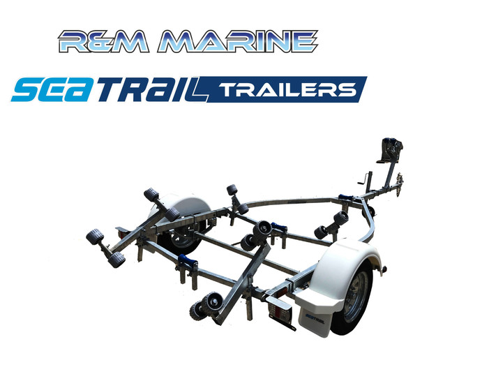 SEATRAIL 4.2 ROLLERED BOAT TRAILER