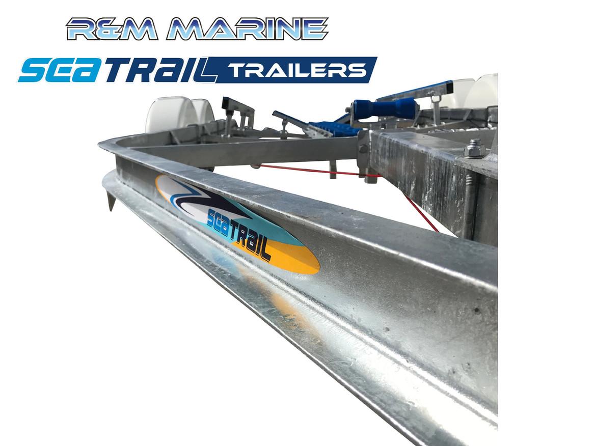 SEATRAIL 5.8M C-CHANNEL TANDEM SKID BOAT TRAILER