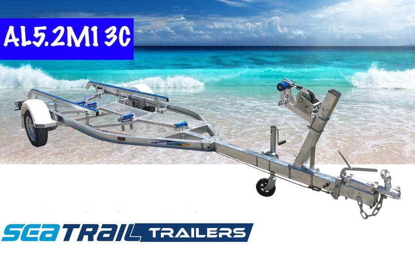 SEATRAIL AL5.2M13C C-CHANNEL SKID BOAT TRAILER