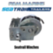 SEATRAIL GALVANISED WINCH