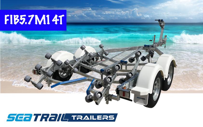SEATRAIL FIB5.7M14T TANDEM ROLLERED BOAT TRAILER