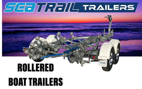 Seatrail Rollered Boat Trailers