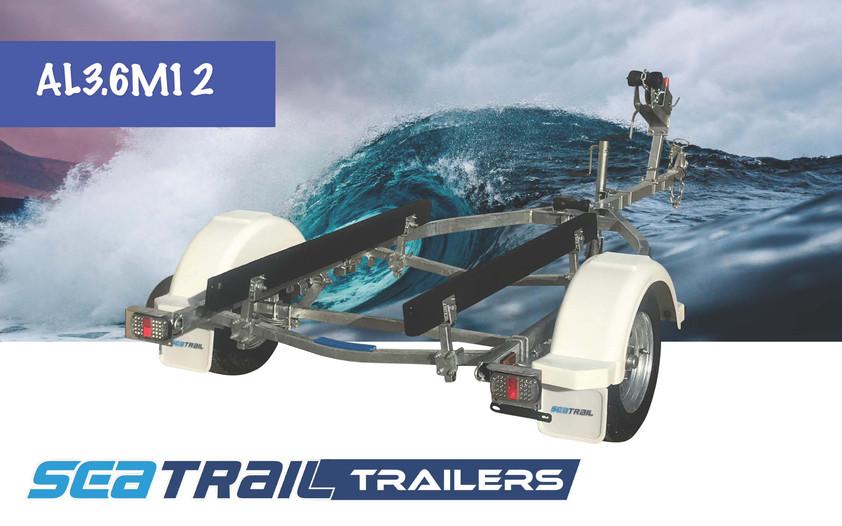 SEATRAIL AL3.6M12 SKID BOAT TRAILER