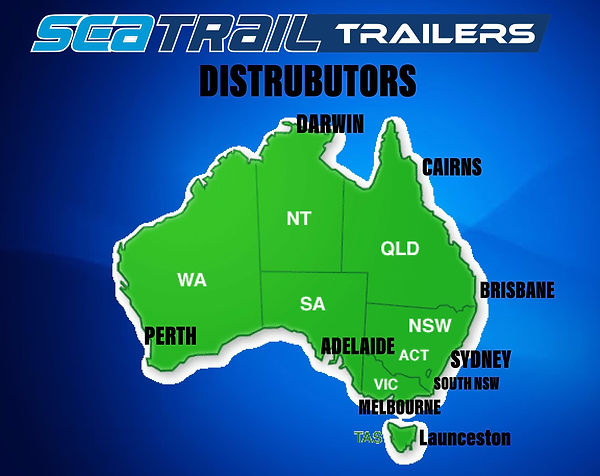 SEATRAIL DISTRIBUTORS MAP