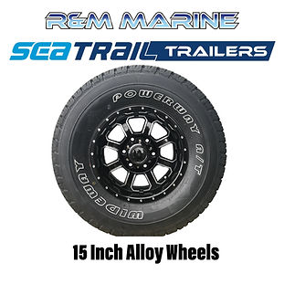 SEATRAIL 15 INCH ALLOY WHEEL