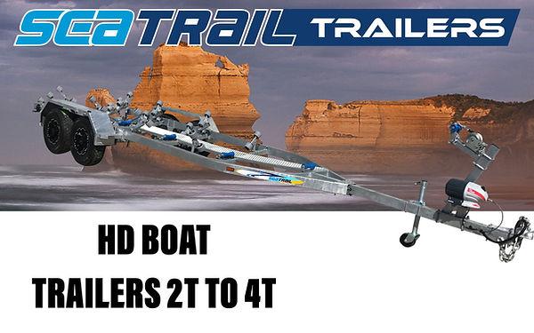 Seatrail Heavy Duty Boat Trailers