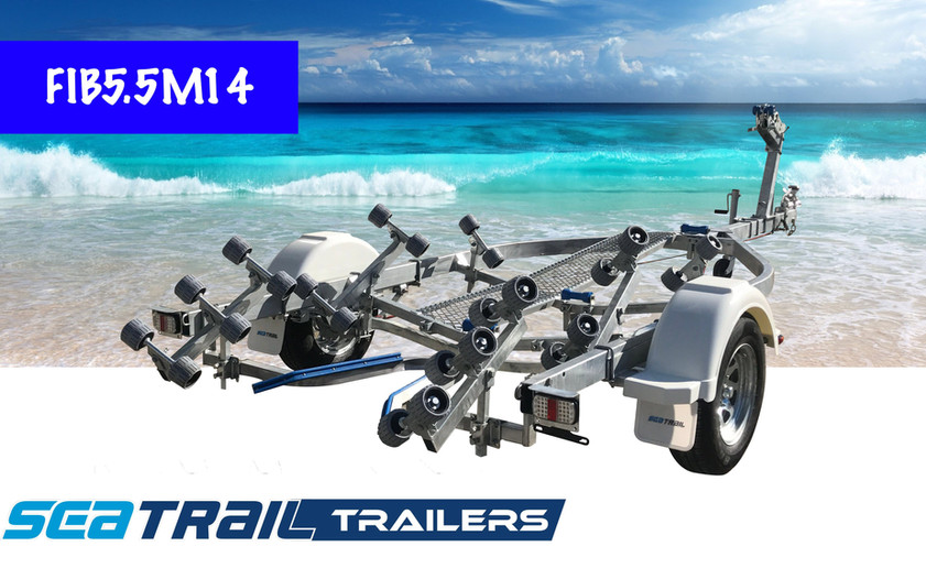 SEATRAIL FIB5.5M14 ROLLERED BOAT TRAILER