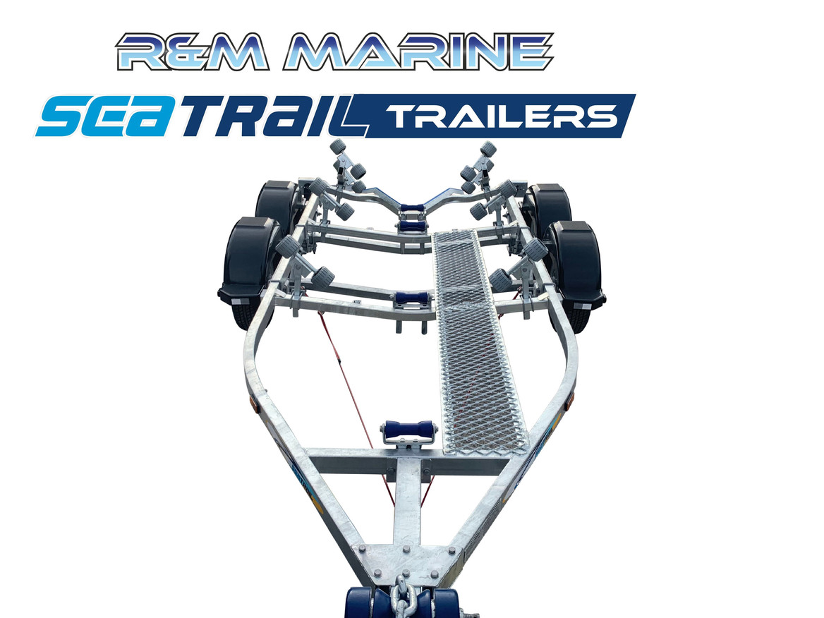 SEATRAIL 4.8M TANDEM ROLLERED BOAT TRAILER