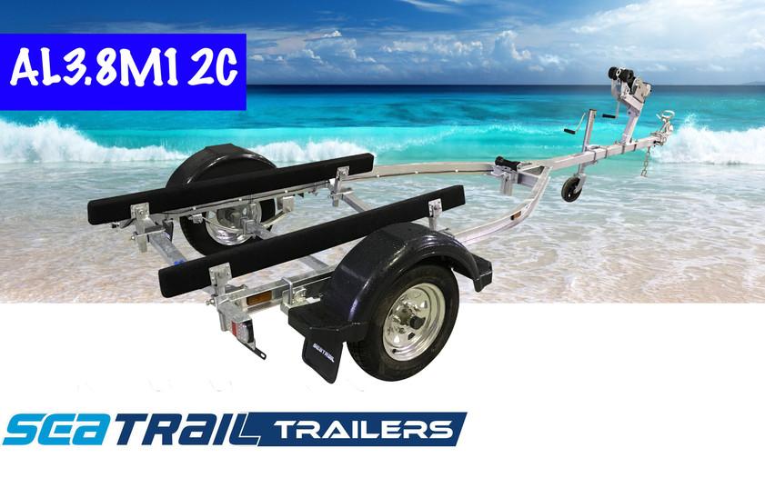 SEATRAIL AL3.8M12C C-CHANNEL BOAT TRAILER