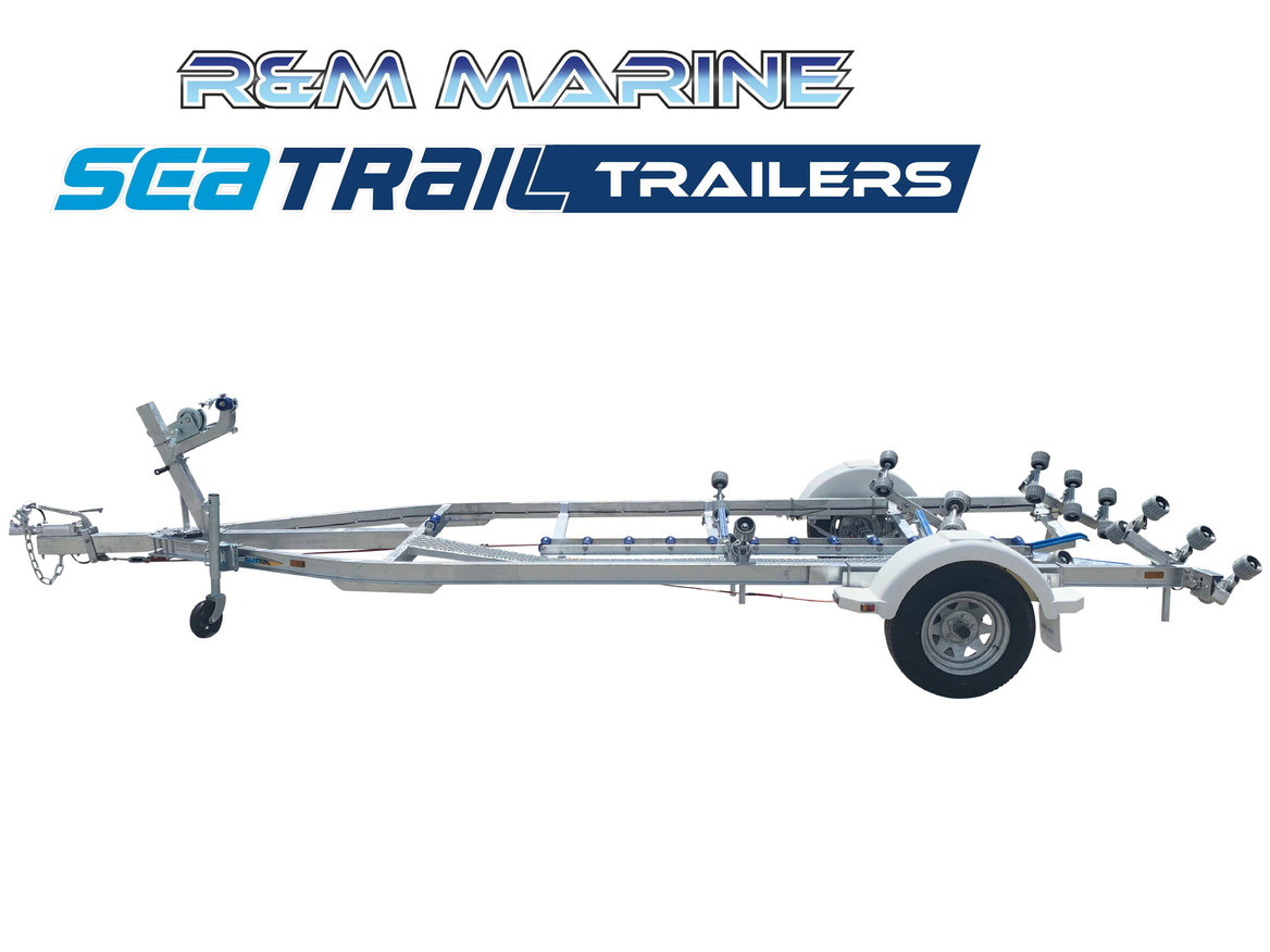 SEATRAIL 5.5M C-CHANNEL ROLLERED BOAT TRAILER