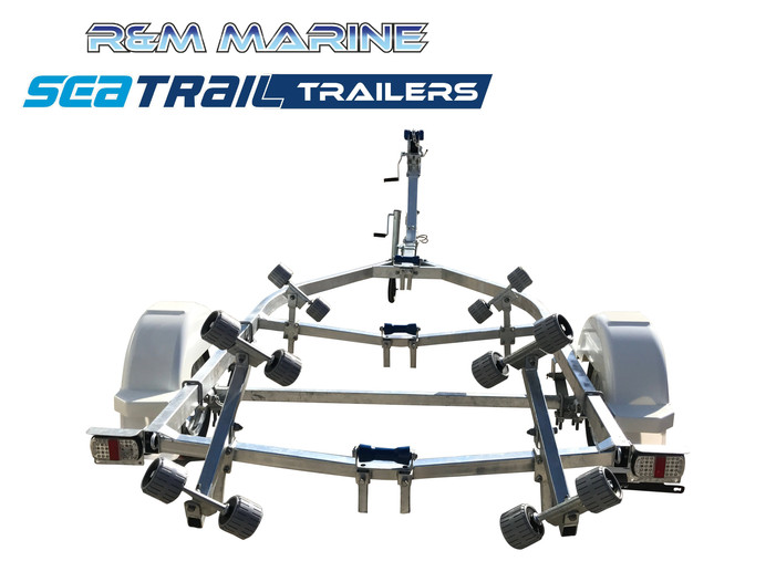 SEATRAIL 4.6M ROLLERED BOAT TRAILER