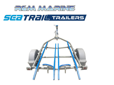 SEATRAIL 4.2M POLY BOAT TRAILER