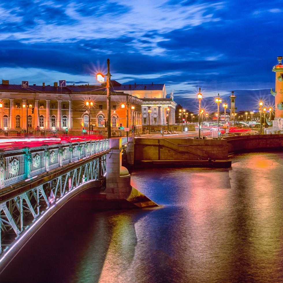 Bridge Over the River Neva