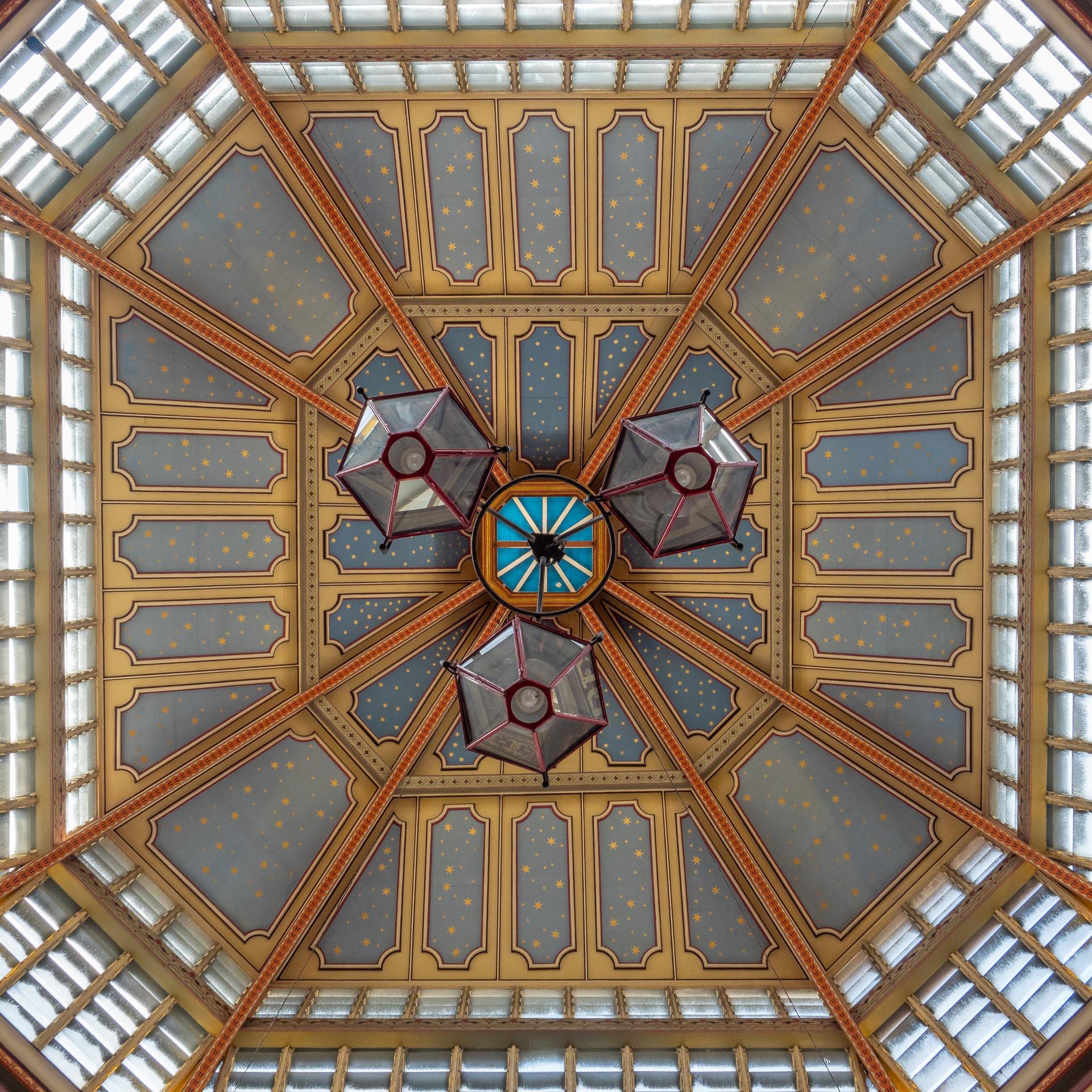 Ceiling at Leadenhall Market, London