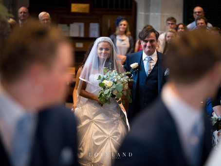 The very young and very in love, Ben & Imogen's wedding at the stunning St John Baptist Church