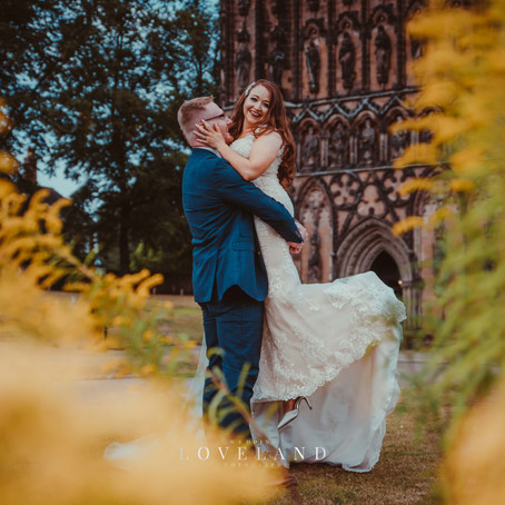 Bethany and Roberts lovely summer wedding in the beautiful city of Lichfield.